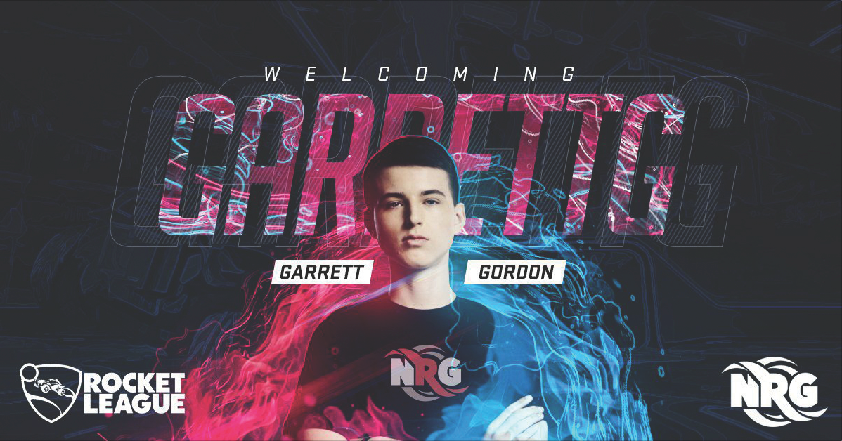 Garrett Gordon (GarrettG) Rocket League Teen Champion