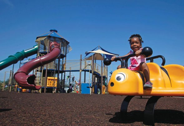 Play It Safe on Playgrounds