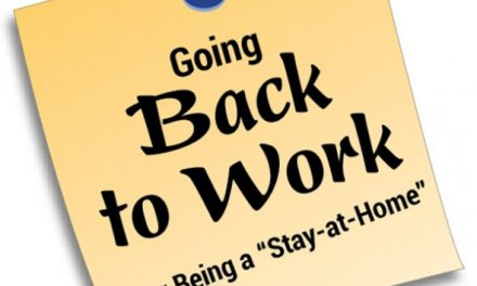 Going Back To Work