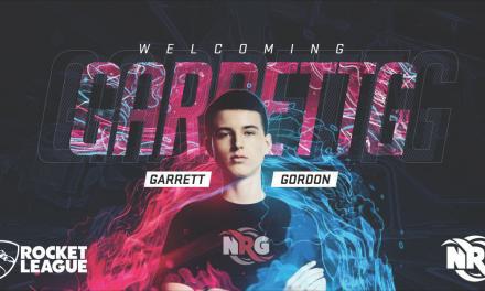 Garrett Gordon (GarrettG) Rocket League Teen Champion