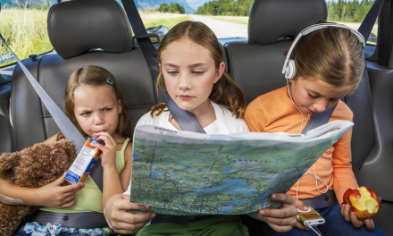 Entertaining Kids on Road Trips