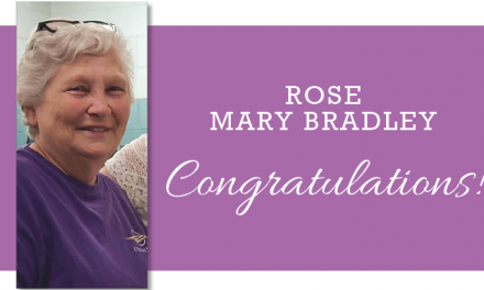 Congratulations Rose Mary Bradley