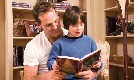 Celebrating Father's Day with Reading