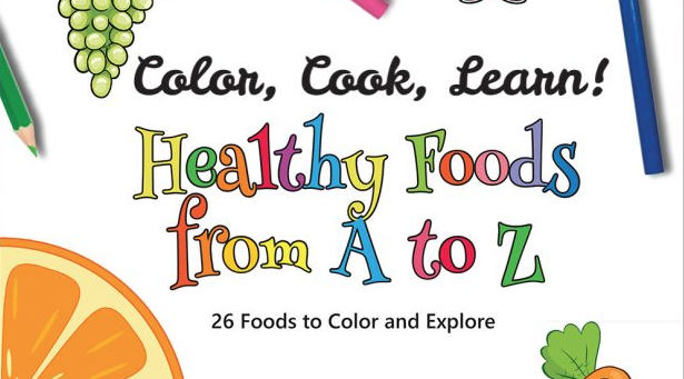 The Color, Cook and Learn Challenge from Liz's Healthy Table