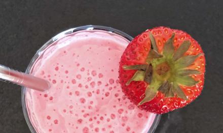 Delicious Strawberry Milk Shake