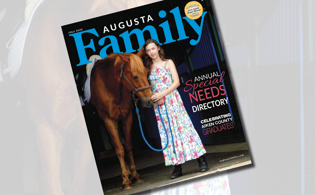 Augusta Family's Special Needs Issue — Now Out on Stands!