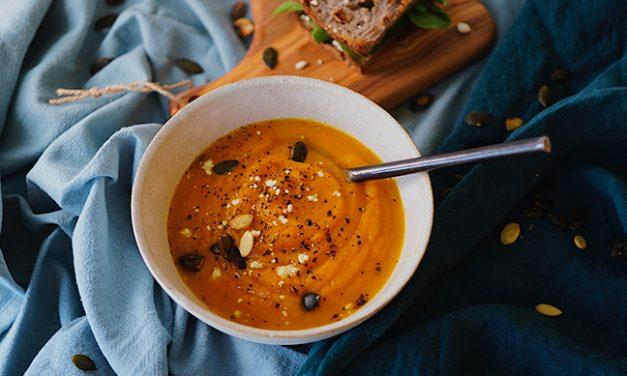Rainy Day Carrot Soup