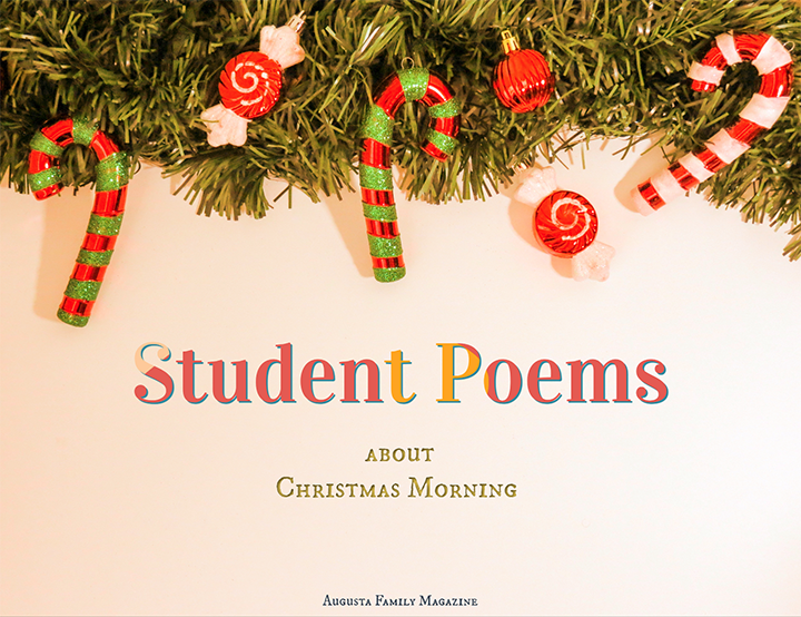 Student Poems About Christmas Morning