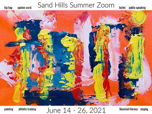 FREE VIRTUAL 4th Annual Sand Hills Community Center Summer Youth Program, June 14 – 26